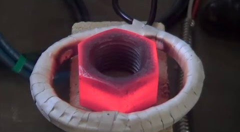 Induction Nut Heating